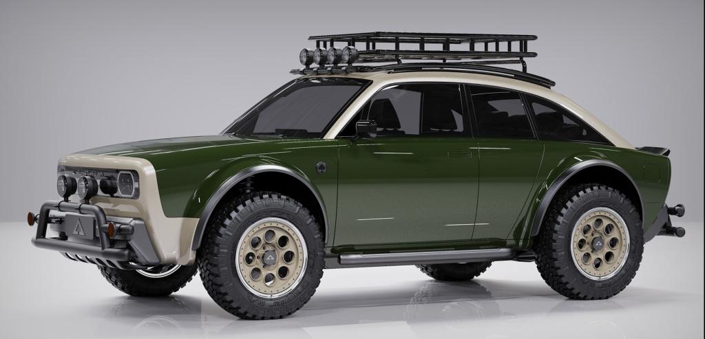 Alpha JAX all-terrain vehicle